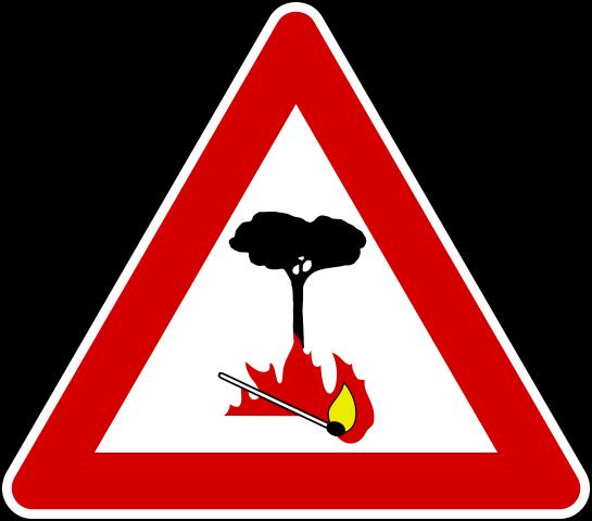 Stato di massima pericolosità per gli incendi boschivi