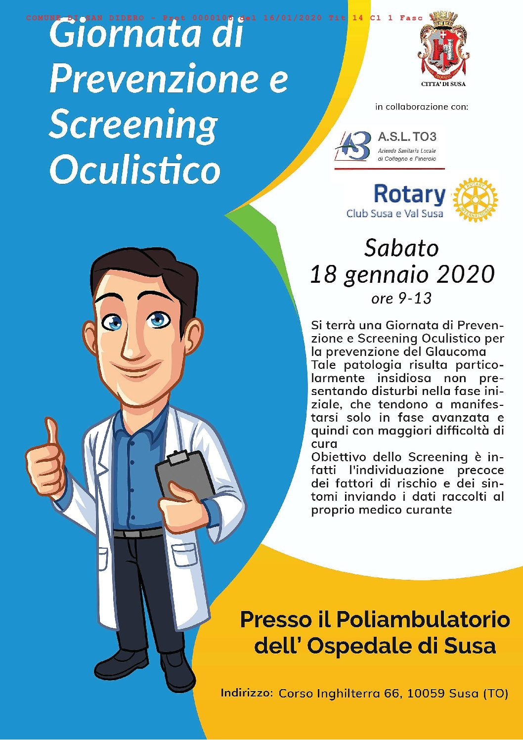 SCREENING OCULISTICO